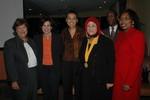 Claire L'Heureux Dube, Linda Basch, Zainab Salbi, Shadrack Gutto, Bernice Donald