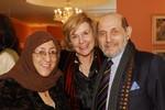 Sakena Yacoobi, Patricia Gruber, Peter Gruber