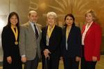 Julie Su, Peter Gruber, Cecilia Medina Quiroga, Luz Mendez, Patricia Gruber